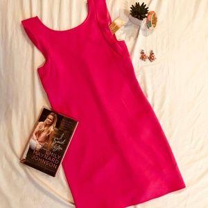 Dresses & Skirts - NWT- Hot Pink Sheath Dress- Size Small